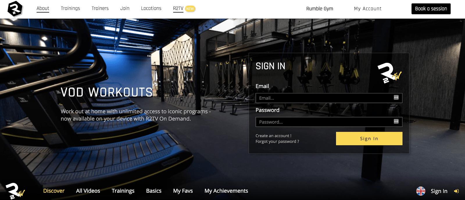 online-fitness-studio